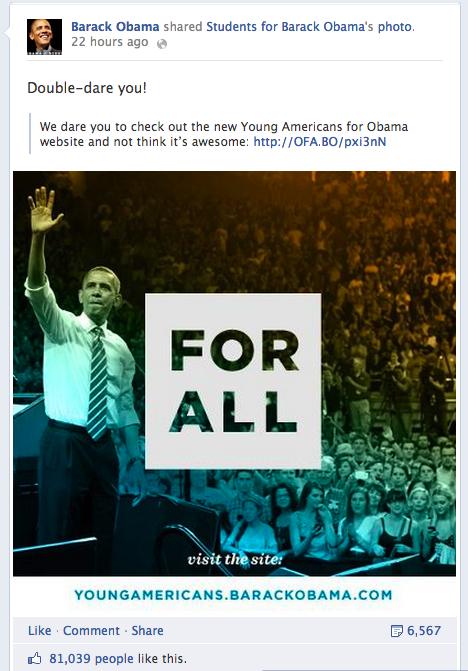 Obama dares you!
